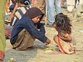 Children - Gangasagar Fair Transit Camp - Kolkata 2012-01-14 0709.JPG