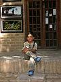 Children in Ribat-i-Abbasi of Nishapur (Hossein - Ali - Fatemeh - Hengameh and another girl - probably Afghani) 38.jpg