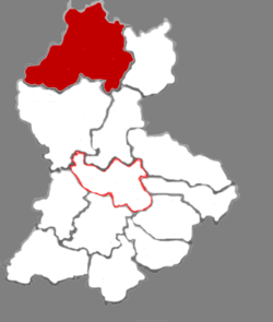 Xing County in Lüliang