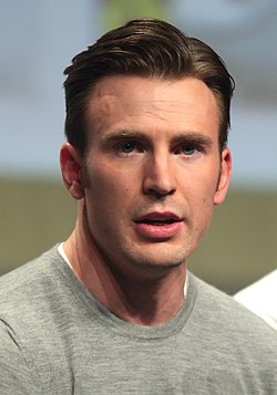 Chris Evans San Diegon Comic-Conissa 2014.
