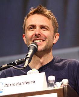 Chris Hardwick American stand-up comedian, actor, television host, writer, producer, podcaster, and musician
