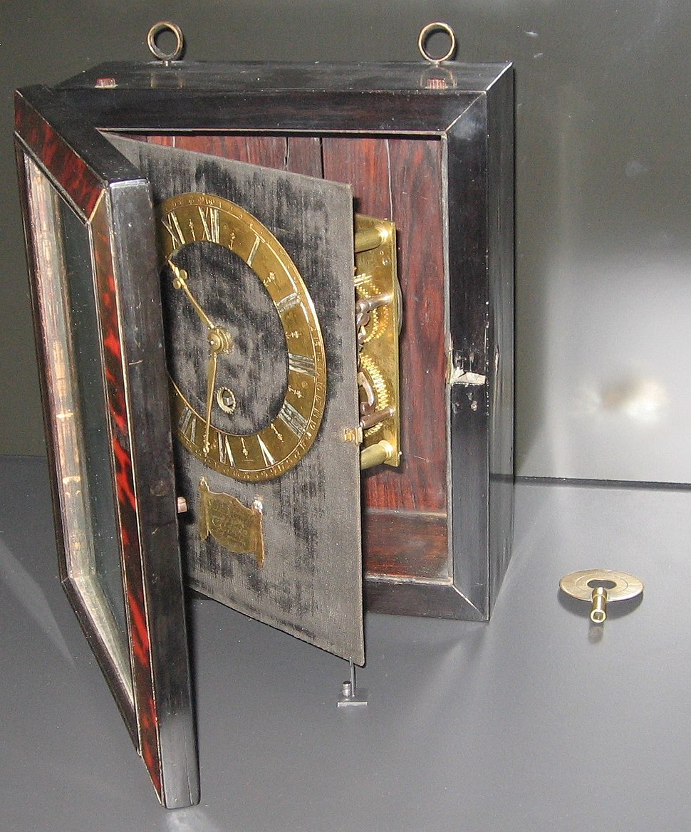 Christiaan Huygens - Clock - Rijksmuseum, Amsterdam - 2