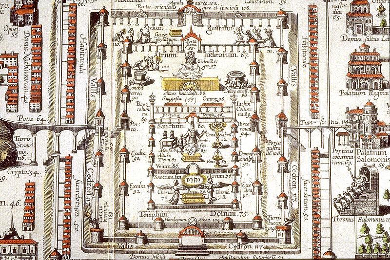 16th century rendering of Solomons temple