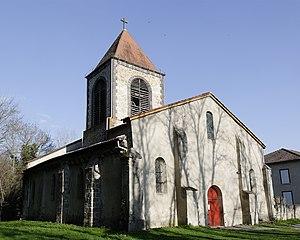 Paslières - Image: Church Saint Bonnet Paslieres