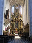 Church of St. Catherine in Kraków, altar.jpg
