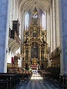 Church of St. Catherine in Kraków, altar.jpg
