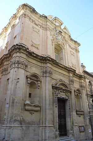 Church of St James, Valletta - Image: Church of St James, Valletta