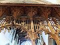 Church of St John, Finchingfield Essex England - Chancel arch rood screen.jpg