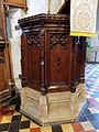 Church of St John, Finchingfield Essex England - pulpit.jpg