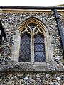 Church of St Mary Matching Essex England - chancel south window.jpg