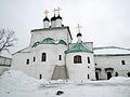 Church of the Dormition of the Theotokos in Alexandrov 08 (winter 2014) by shakko.JPG