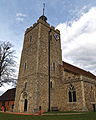Church of the Holy Cross Felsted Essex England - from the southwest 01.jpg
