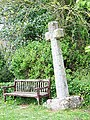 Churchyard Cross, Church of St George, Shillingford St George - geograph.org.uk - 1308072.jpg