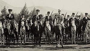 Army of the Levant - Image: Circassiantroopswith theirfrenchofficer