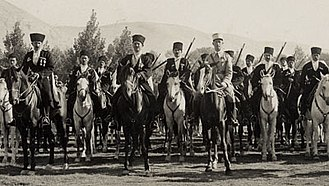 Army of the Levant - Circassian cavalry of the Army of the Levant with their commander Colonel Philibert Collet.