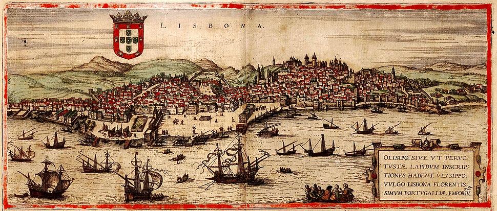 City of Lisbon, 1572
