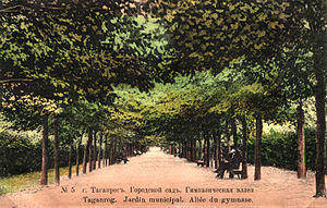 Gorky Park (Taganrog) - Image: Citypark taganrog old