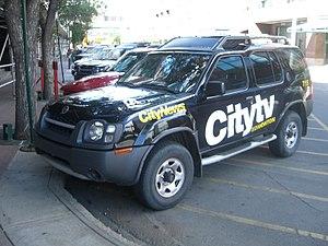 City (TV network) - Citytv news vehicle in Edmonton