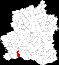 Vị trí của Ciuperceni