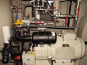 South African Class 22E - Compressor