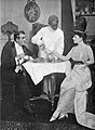 """Claude Flemming, James A. Gleason, and Fritzi Scheff in """"Pretty Mrs. Smith"""".jpg"""