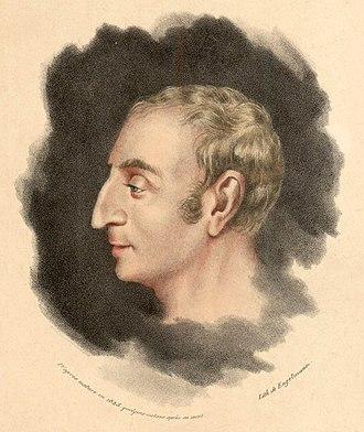 Claude Henri de Rouvroy, comte de Saint-Simon - Henri de Saint-Simon, portrait from the first quarter of the 19th century