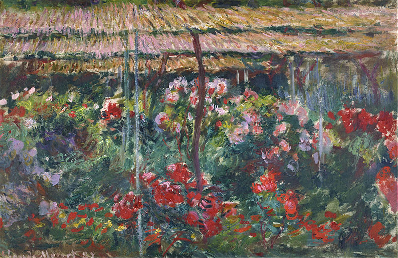 File:Claude Monet - Peony Garden - Google Art Project.jpg