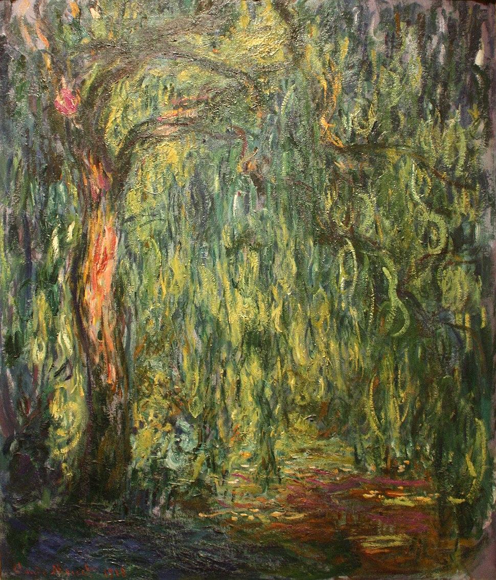 Claude Monet - Weeping Willow (1918)