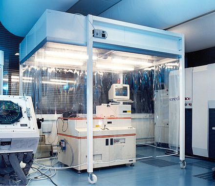 Cleanroom cabin for precision measuring tools Cleanroom-Cabin.JPG