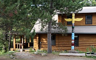 National Register of Historic Places listings in Cook County, Minnesota - Image: Clearwater Lodge Gunflint Trail