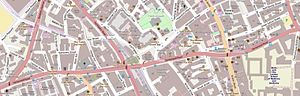 Clerkenwell Road - The immediate vicinity of Clerkenwell Road