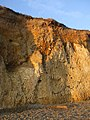 Cliff Strata at Weybourne - geograph.org.uk - 1478458.jpg