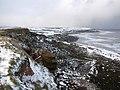 Cliffs above Loftus Alum Quarries - geograph.org.uk - 1626083.jpg