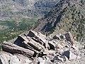 Climbing Lincoln Peak, Glacier National Park, Montana July 2007 - panoramio - Gary Miotla (2).jpg