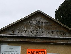 Clodock Church notice board - geograph.org.uk - 1509345.jpg