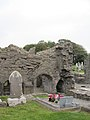 Cloisters and cemetery Donegal Abbey.jpg