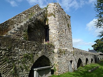 Heritage Council (Ireland) - Conserved medieval town walls of Clonmel, Co. Tipperary