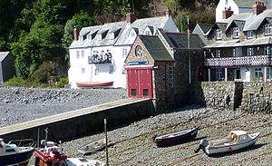 Clovelly Lifeboat Station - Image: Clovelly Lifeboat Station