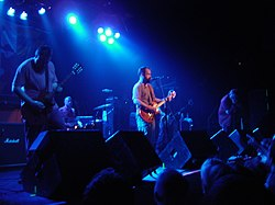 La band dal vivo al First Avenue di Minneapolis nel 1997