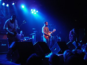 Clutch (band) - Clutch performing at First Avenue in Minneapolis, 2007
