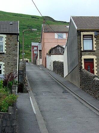 Clydach Vale - Image: Clydv hill