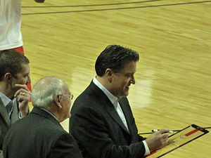 Steve Lavin - Coach Lavs draws up a shopping list