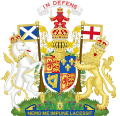 Coat of Arms of Great Britain in Scotland (1707-1714).svg