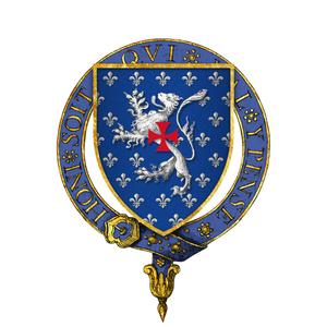 Otho Holand - Arms of Sir Otho Holland, KG