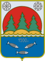 Coat of Arms of Toksovo (Leningrad oblast) (2005).png