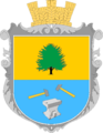 Coat of arms of Tysmenychany.png