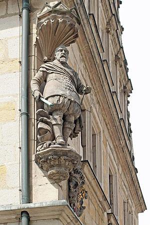 John Casimir, Duke of Saxe-Coburg - Statue of Duke John Casimir at the Casimirianum