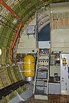 Cockpit access steps of a C-133A Cargomaster (56-1999 - N199AB) (30297381802).jpg