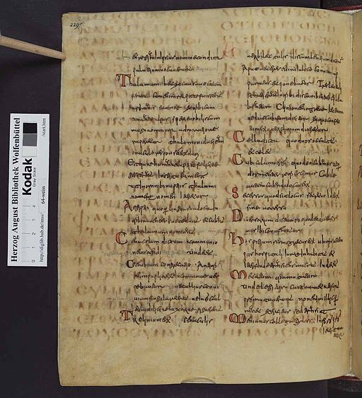 Codex Guelferbytanus B 00474