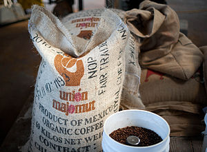 Coffee production in Mexico - Organic coffee from Chiapas.